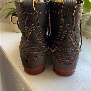 llbean bison bean boots
